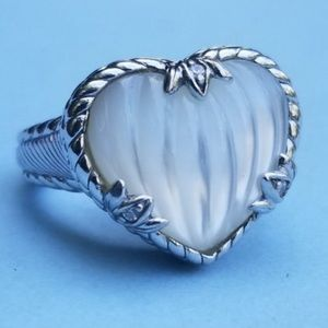 Judith Ripka mother of the heart ring